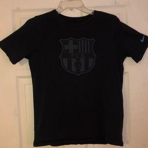 Nike fc barcelona tee shirt